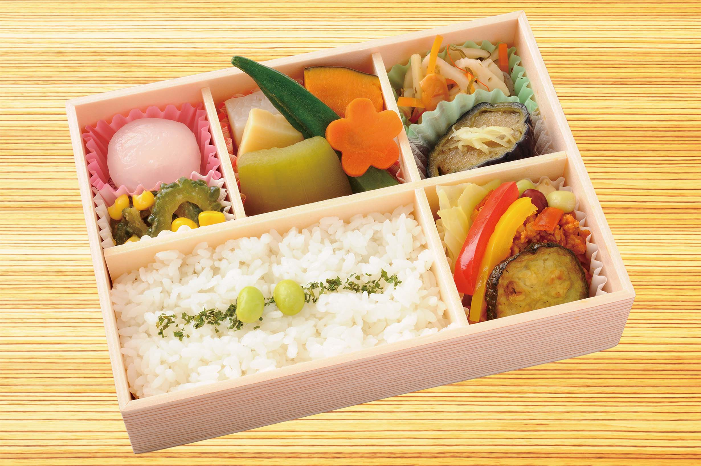 A lot of summer vegetables lunches (May 21, 2018 beginning to sell)
