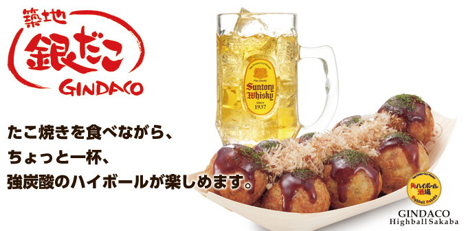 Tsukiji GINDACO Highball Sakaba